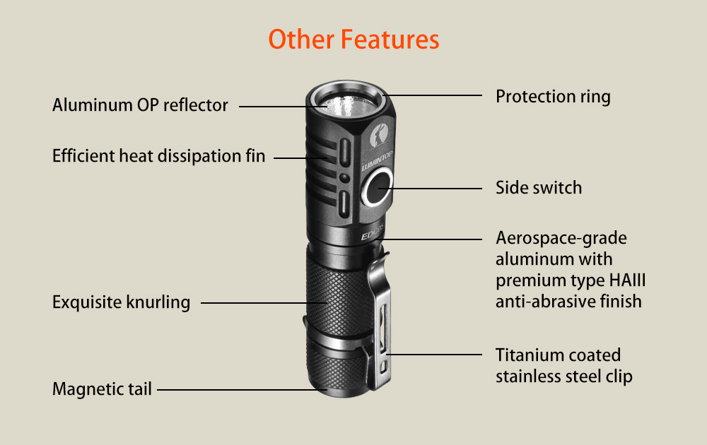 lumintop edc05 flashlight online