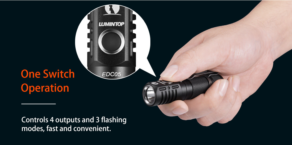 buy lumintop edc05 flashlight