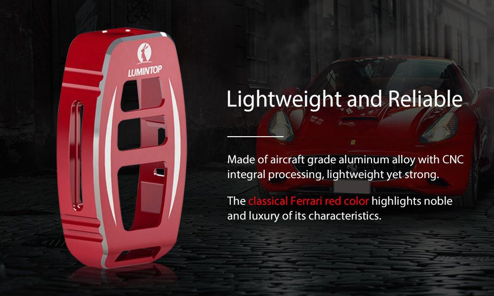 lumintop geek keychain flashlight