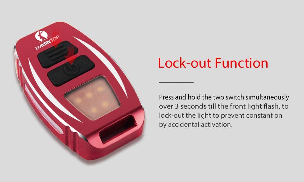 lumintop geek mini flashlight