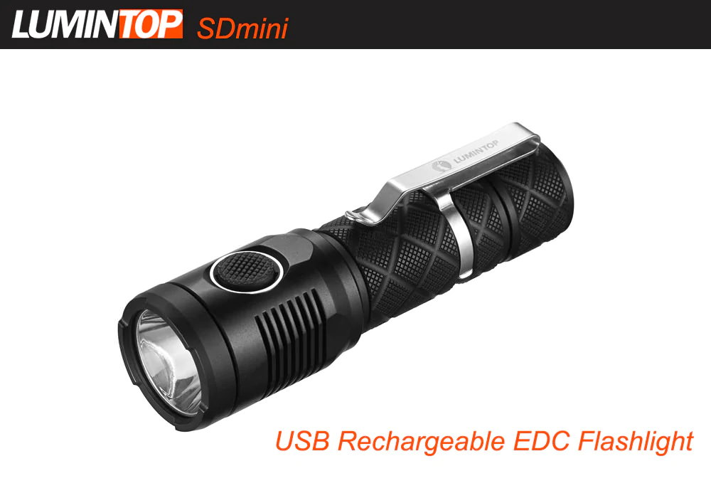 lumintop sdmini flashlight