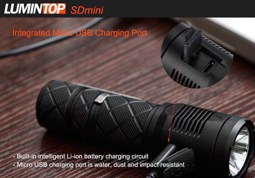 lumintop sdmini flashlight price