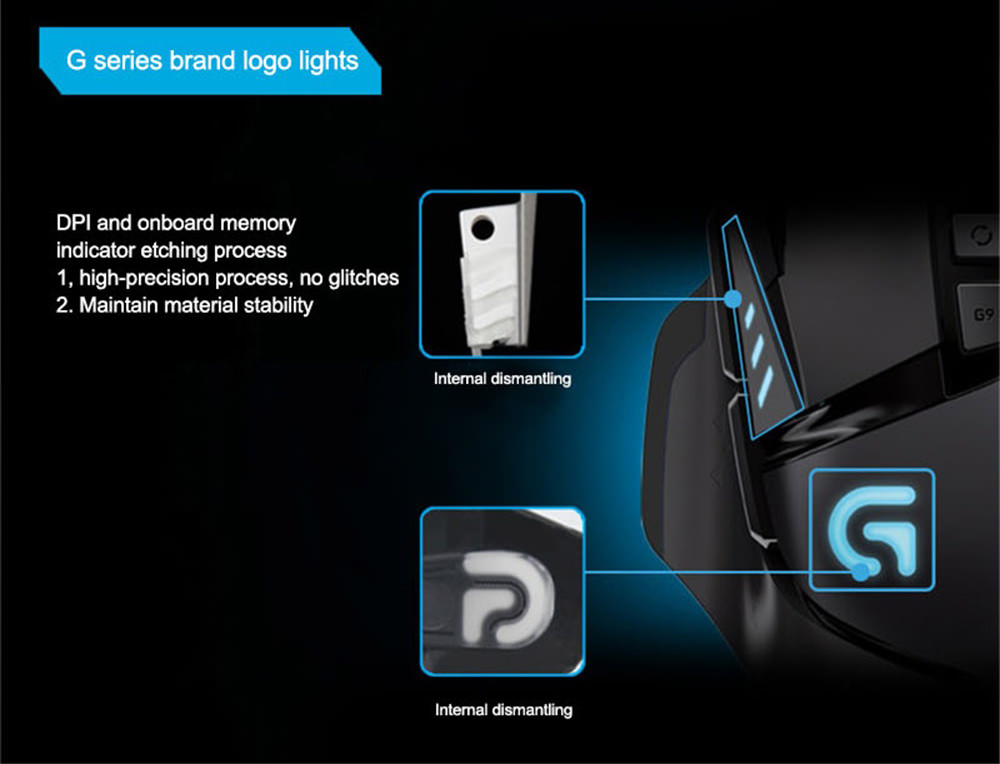 buy logitech g502 wired mouse