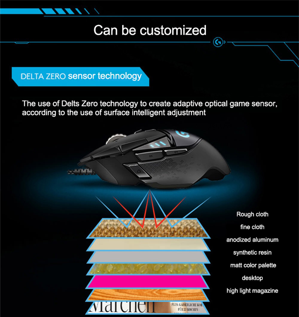 logitech g502 gaming mouse price