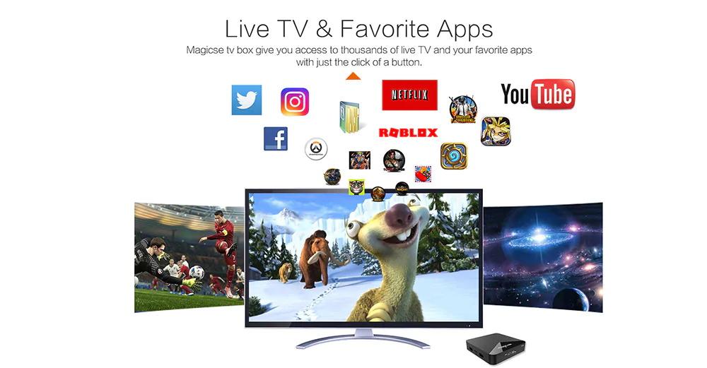 magicsee n5 android tv box
