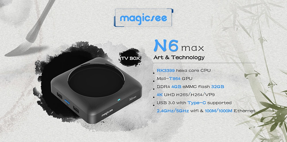 magicsee n6 max tv box