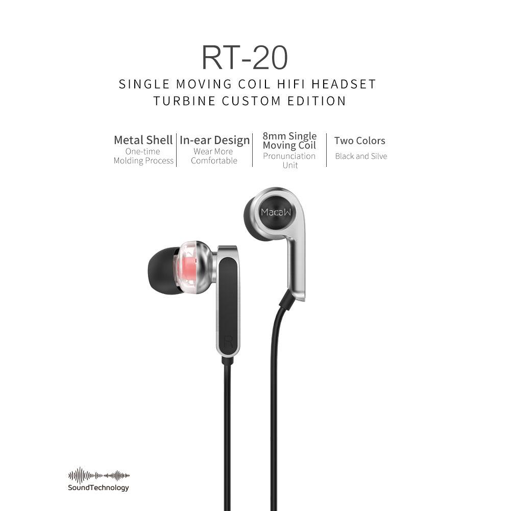 macaw rt-20 earbuds