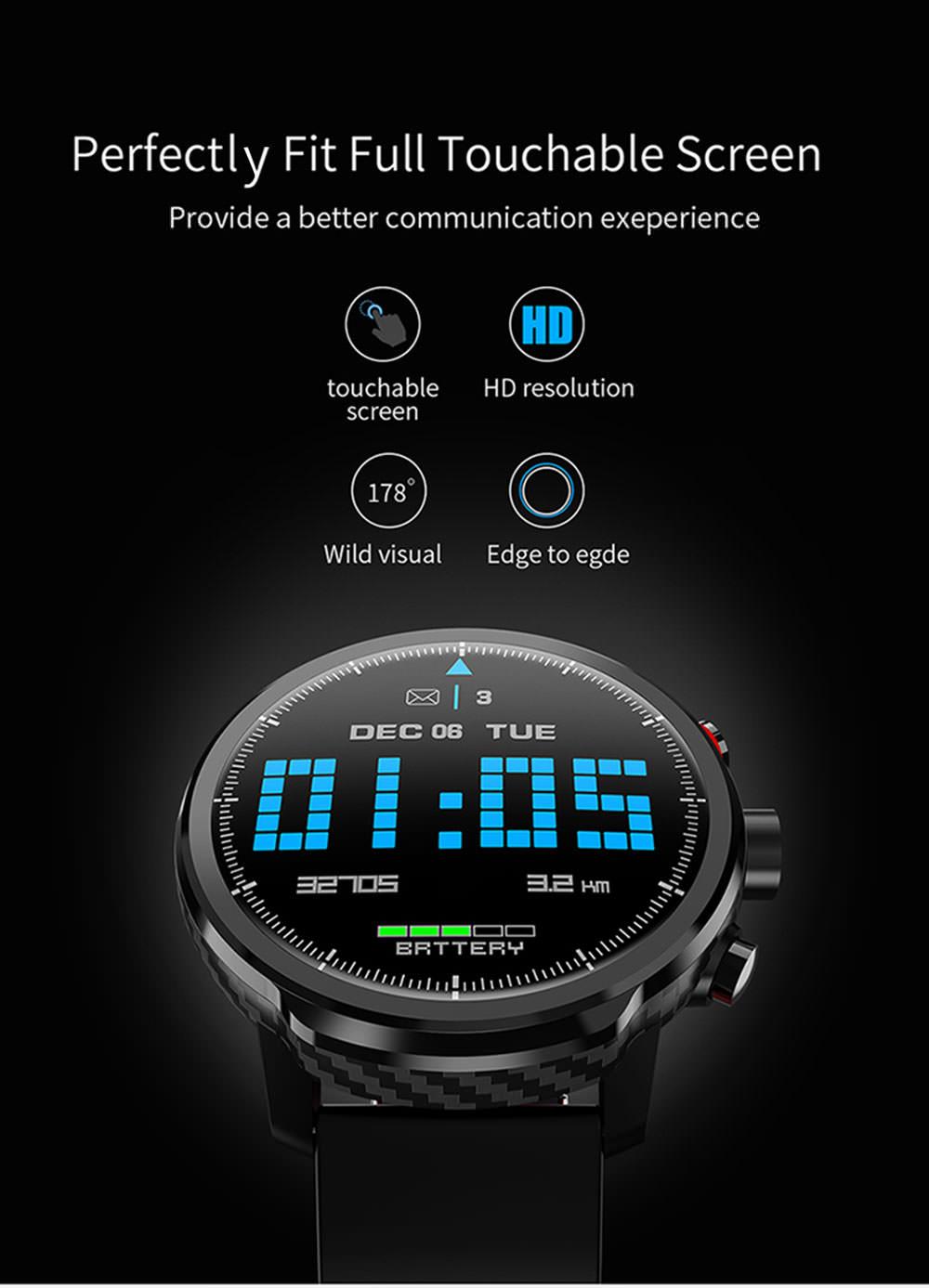 cheap microwear l5 smartwatch
