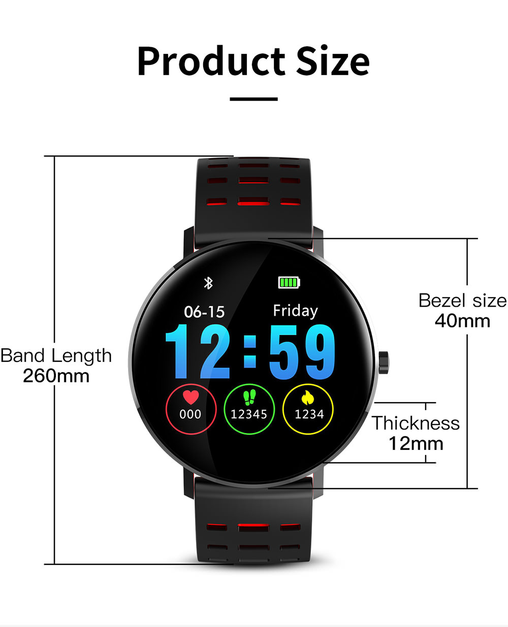 buy cheap microwear l6 smartwatch