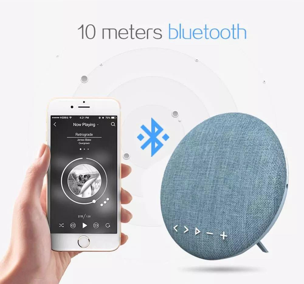 nsp-065 bluetooth fabric speaker
