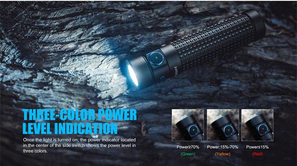 olight s2r baton ii led flashlight