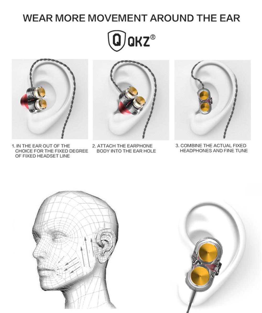 buy qkz kd7 in-ear earbuds