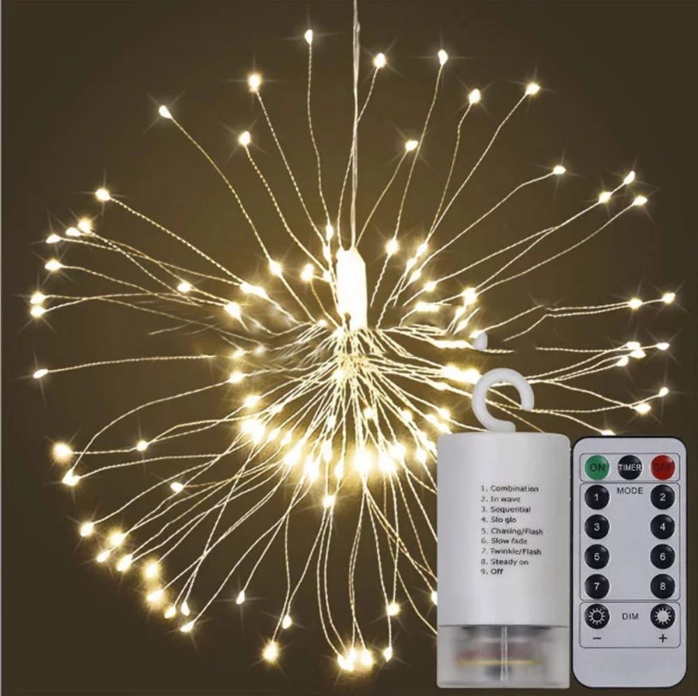 new firework string lights