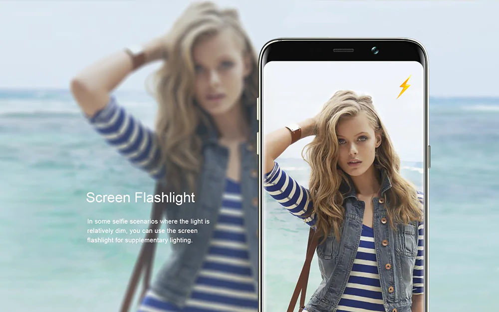 bluboo s8+ smartphone