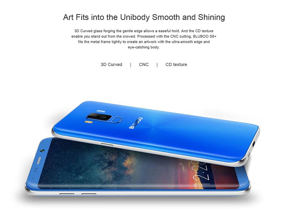 2018 bluboo smartphone