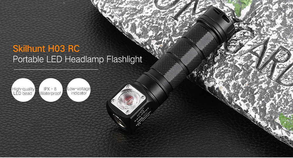 skilhunt h03 rc flashlight