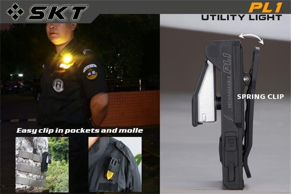 skilhunt pl1 pocket flashlight