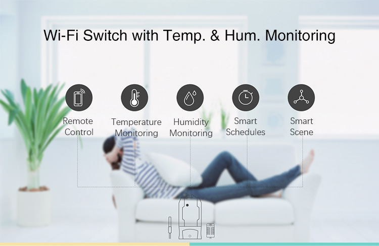 sonoff th16 smart switch