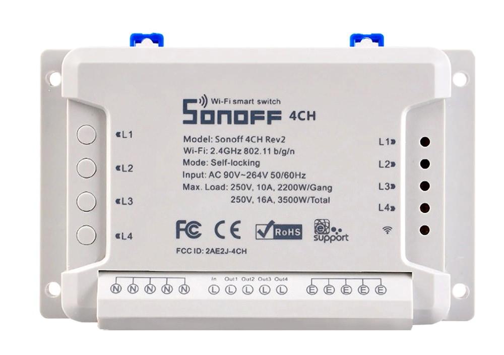 buy sonoff 4ch r2 smart switch