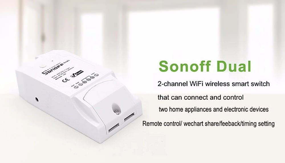 sonoff dual smart switch