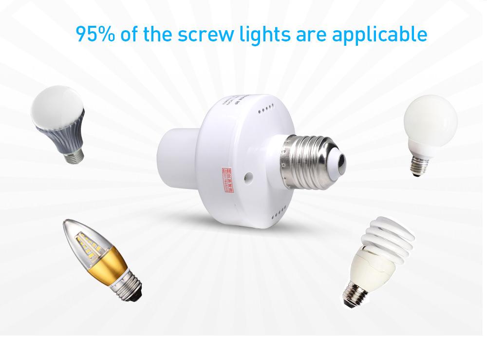 new sonoff slampher rf smart lamp holder