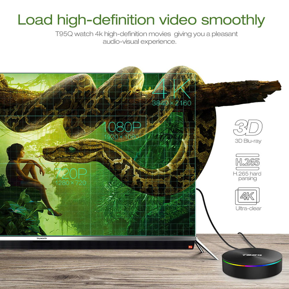 sunvell t95q tv box online