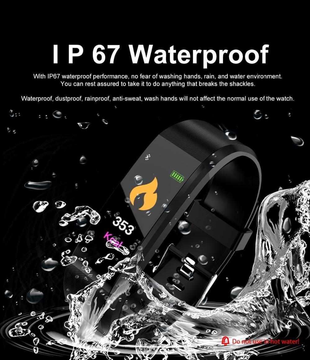 tianje 115 plus smartband