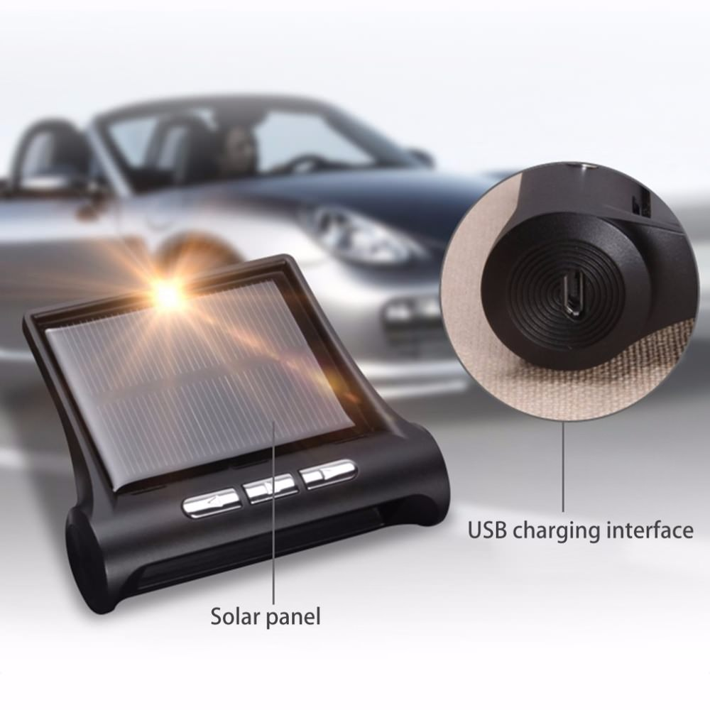 2018 solar car tire pressure monitoring system