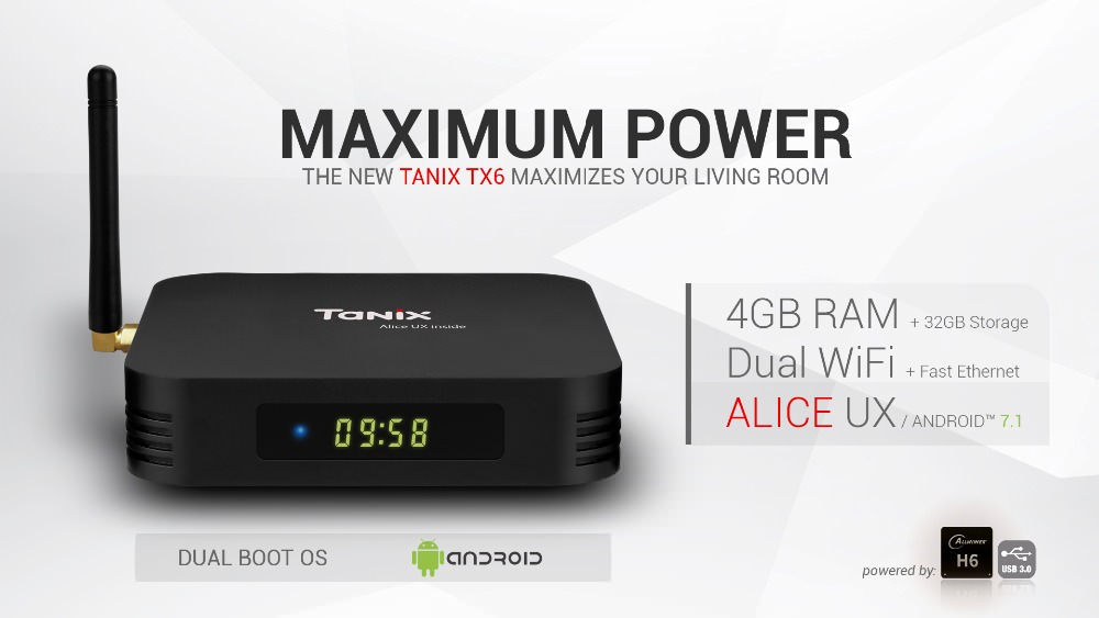 tanix tx6 android tv box online