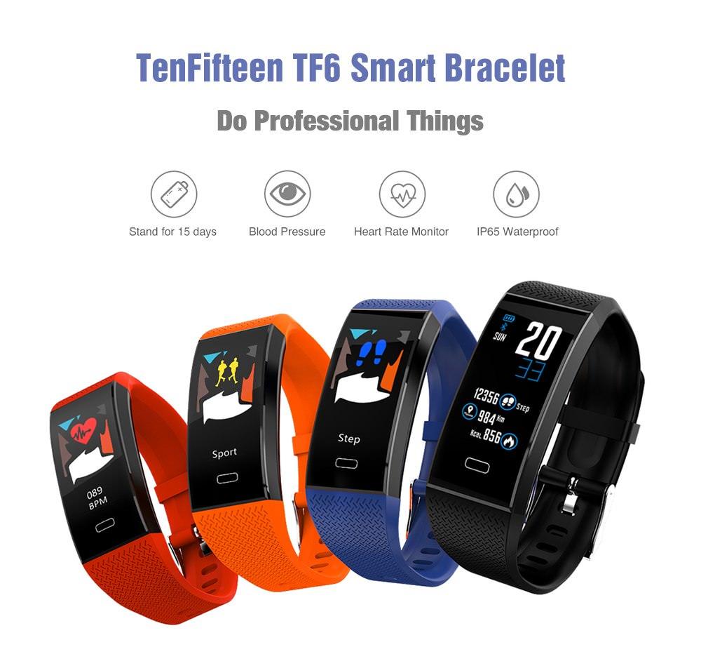 tenfifteen tf6 smart bracelet