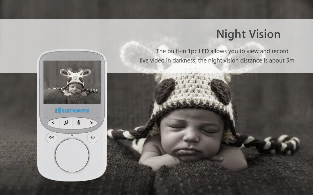 vb605 video baby monitor