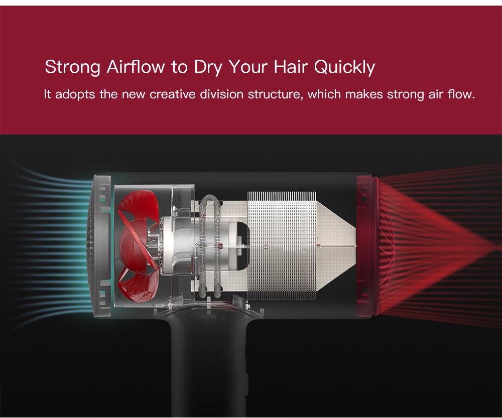 mijia soocas h3 hair anion dryer