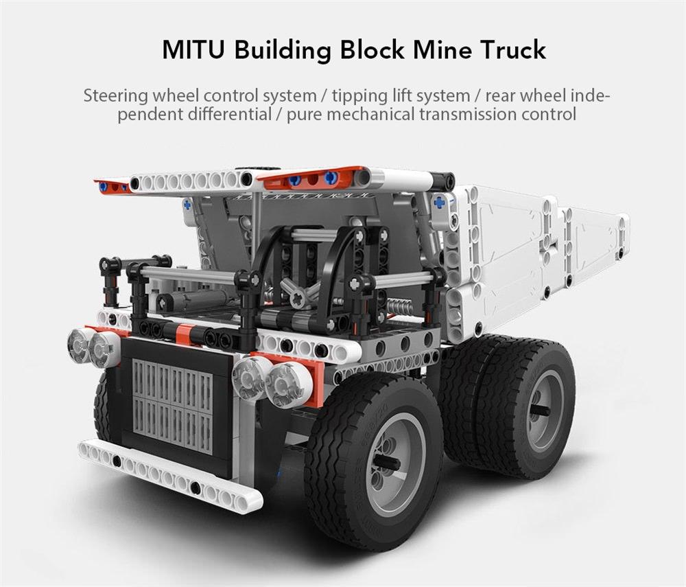 xiaomi mitu puzzle building block truck