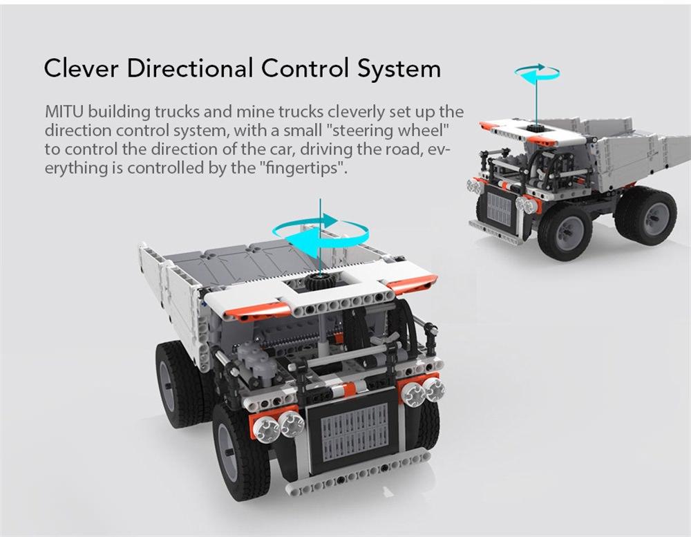 new xiaomi mitu puzzle building block truck