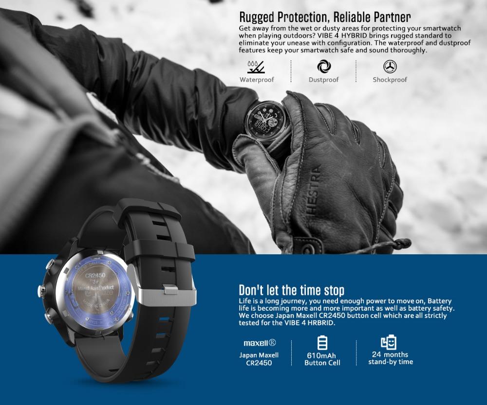 zeblaze vibe 4 hybrid smartwatch