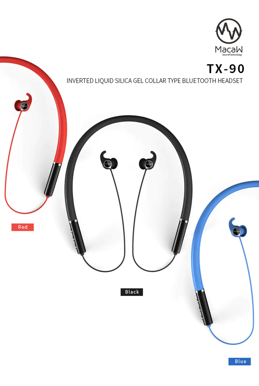 macaw tx-90 earbuds