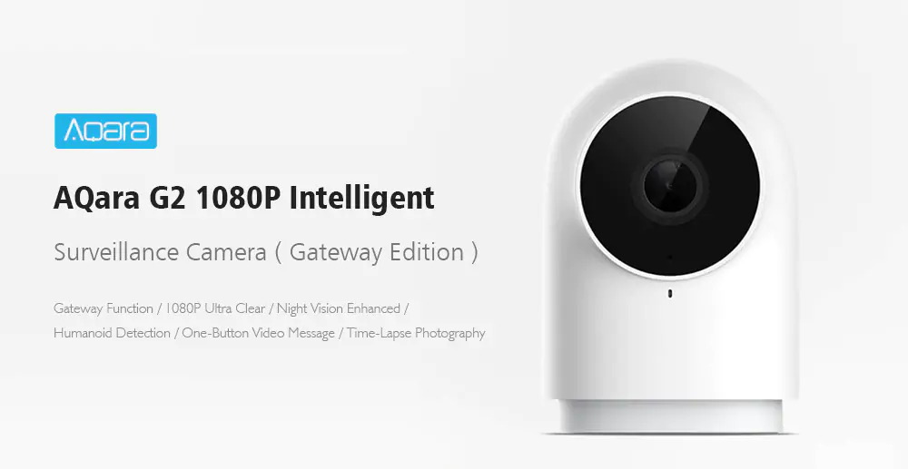 xiaomi aqara g2 wifi smart ip camera
