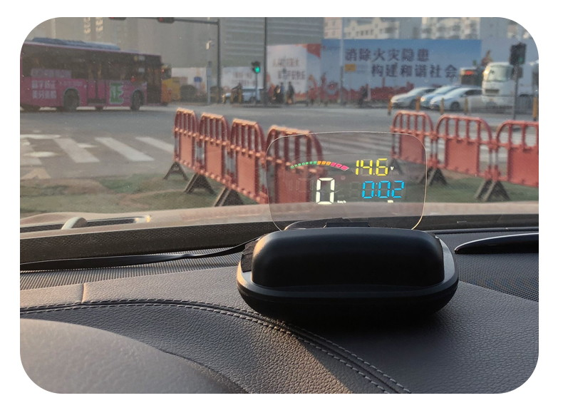 new c800 car hud head up display