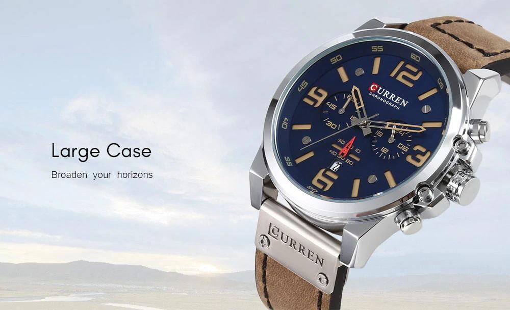 buy curren 8314 male quartz watch