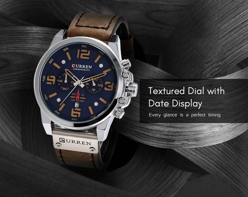 curren 8314 male quartz watch for sale