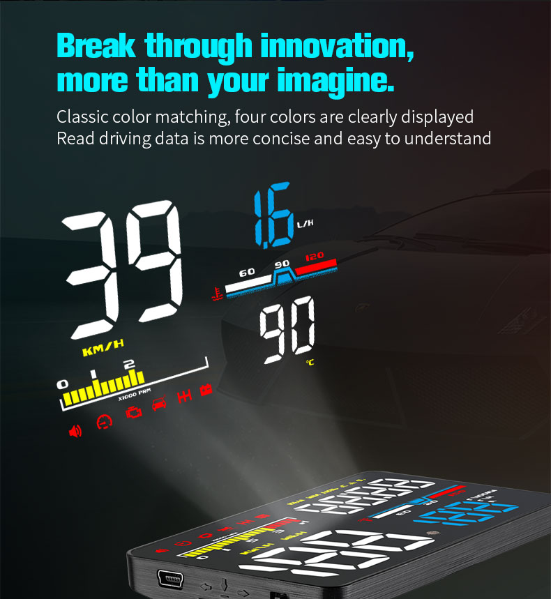 d5000 car hud head up display sale
