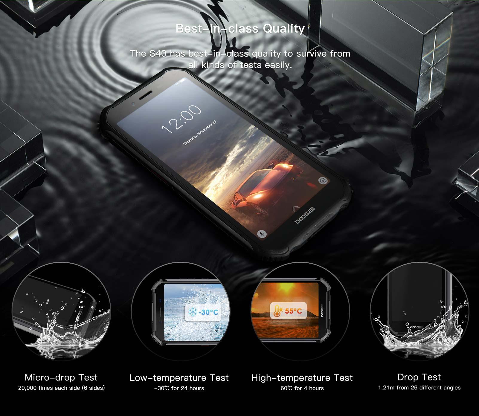 2019 doogee s40 smartphone
