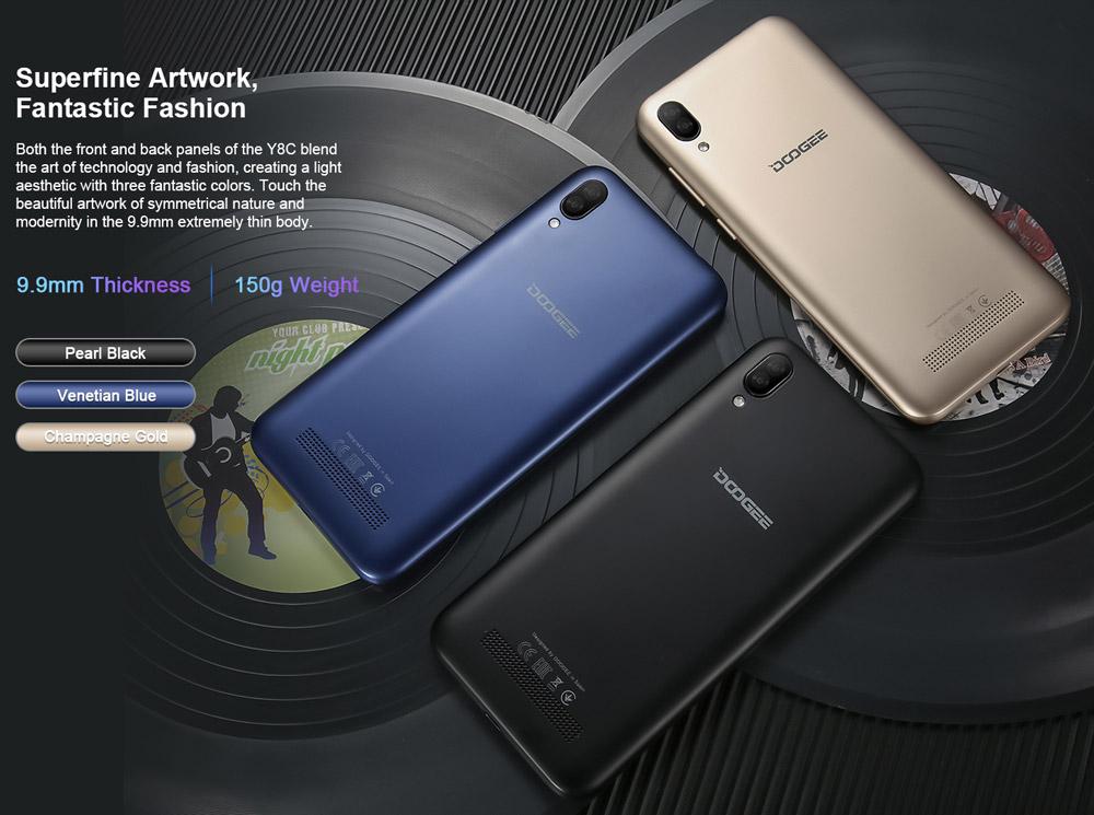 doogee y8c smartphone price