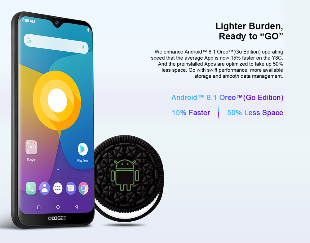 doogee y8c smartphone online