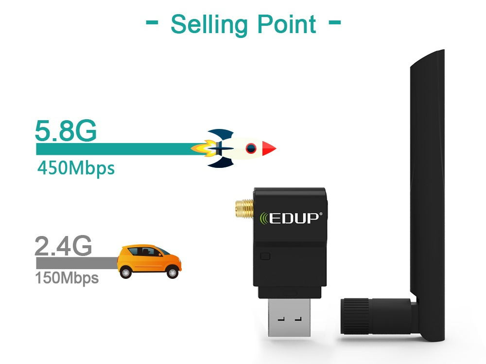 edup ep-ac1635 usb adapter for sale