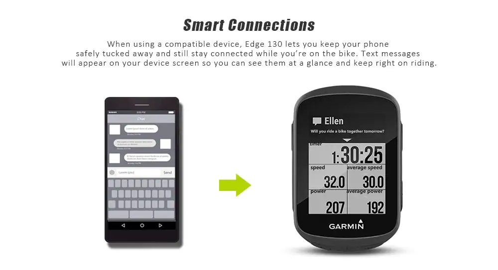cheap garmin edge 130 bicycle computer