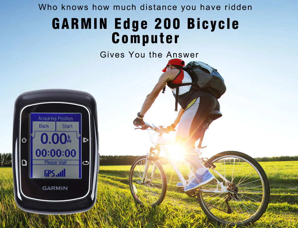 garmin edge 200 bicycle computer