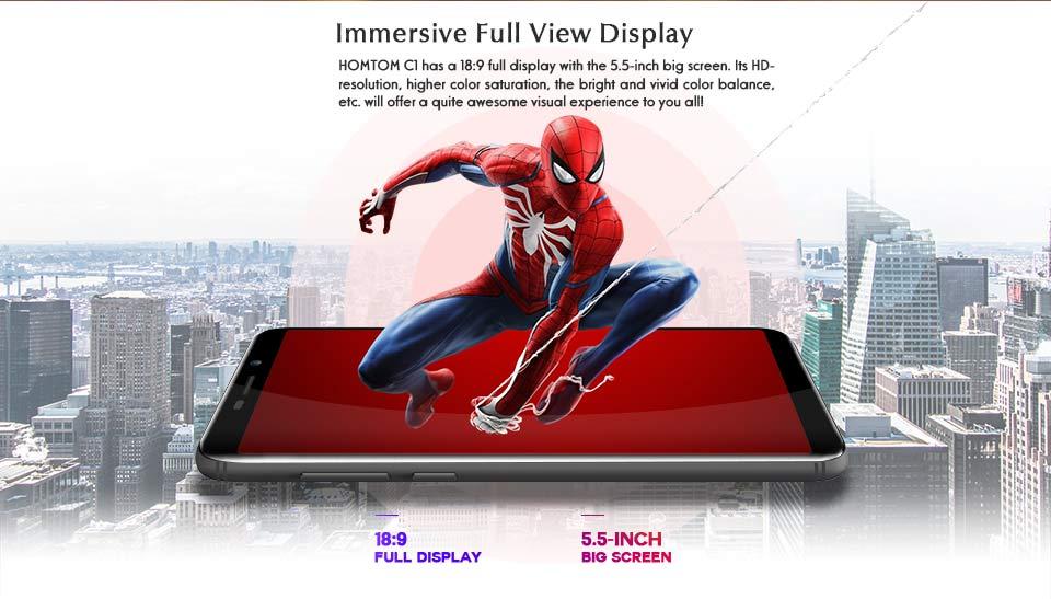 homtom c1 smartphone sale
