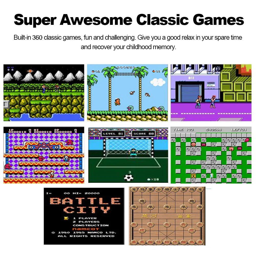 handheld arcade game console