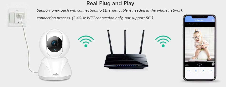 hiseeu fh3a wifi home security ip camera